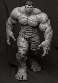 ArtStation - Hulk - Collectible Statue, Bruno Câmara