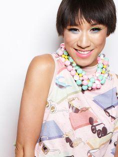 Eva Chen's new Nicki-Minaj-inspired look. Actually very nice and tasteful!