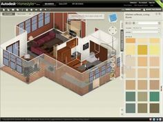 9 Online Design Programs When it comes to decorating and remodeling it can be a very overwhelming task. How can you play around with ideas and s&le ... & 37 best HGTV Software images on Pinterest | Home interior design ...
