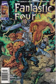 Fantastic Four 1996 2nd Series 4A February 1997 by ViewObscura, $3.00