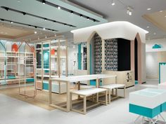 Rigi Design Gives A Kidsu0027 Clothing Store A Sophisticated Shake Up In China