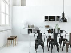 Scandinavian minimalism with industrial touch. No.5 storage system from Voice