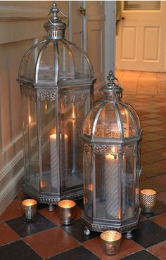 Our intricate Morrocan lantern nest has now found a home in the hallway of a private residence. The buyer coupled the lanterns with our new range of LED candles to prevent the mess of dripping wax, what a wonderful idea! Tall Lanterns, Wholesale Furniture, Led Candles, Finding A House, Fairy Lights, Decorative Items, Home Furnishings, Home Accessories, Glass Vase
