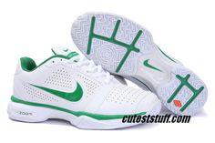 Nike Zoom Vapor 8 Club roger federer nike tennis 431842 102 White Green