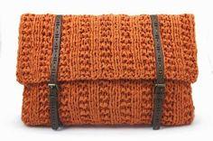 El blog de Dmc: Nuevo Ribbon XL de Hoooked y tutorial bolso tricot