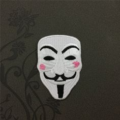 V for Vendetta Individuality Hat patches sports patches Embroidered Iron-On Patches sew on patches