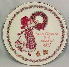 Looking for... 1981 HOLLY HOBBIE CHRISTMAS PLATE