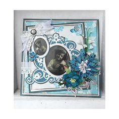Marianne Design Creatables Die - Flower Mirror LR0322