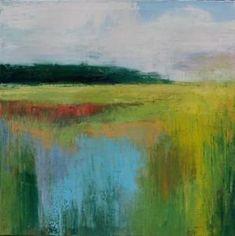 Sabre Esler - Anne Irwin Fine Art >>Sun Casting On Marshes by matilda