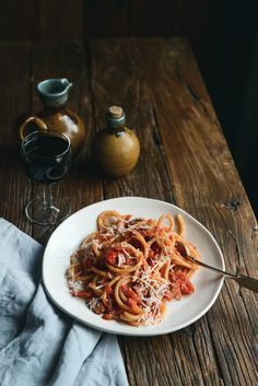 From The Kitchen: Bucatini all'Amatriciana