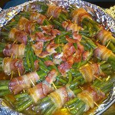 Sweet Green Bean Bundles Allrecipes.com