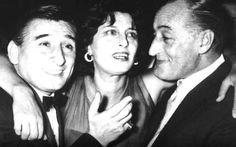"""3 """" Grandissimi """" Renato Rachel, Anna Magnani & Totò."""