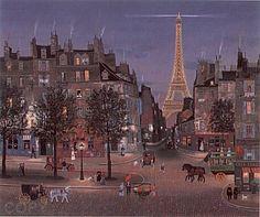 Michel Delacroix, La Tour Eiffel 'eclairee