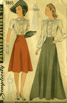 1940's skirt