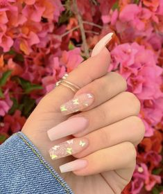 Charming Acrylic Nail Designs Ideas to Try for Summer in 2019 . - Charming Acrylic Nail Designs Ideas to Try for Summer in 2019 – Nails Art – Purple Nail, Summer Acrylic Nails, Best Acrylic Nails, Summer Nails, Winter Nails, Painted Acrylic Nails, Acrylic Gel, Spring Nails, Milky Nails