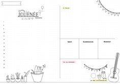bullet journal a imprimer | Bullet journal] Planning mensuel, annuel, hebdomadaire et quotidien ...