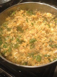 Cauliflower Fried Rice... my favorite! #chinese #healthy #friedrice #cauliflowerfriedrice
