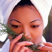 If you have black hair that's turning gray, the lighter hairs stand out and can make you look and feel older than you actually are. Instead of resorting to commercial hair dyes that contain harsh chemicals, you can use sage and rosemary to darken your gray areas. Sage has been used for centuries to gradually darken gray hair and to keep hair...