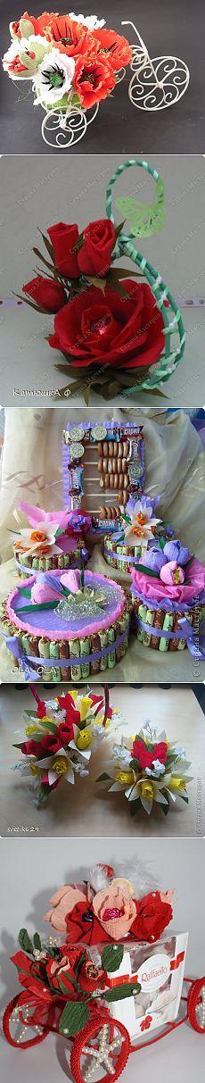 букеты из конфет | Записи в рубрике букеты из конфет | Дневник Ватрушка