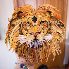 Hear Me Roar | Quilled Lion