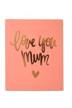 Mothers Day Card 2016 #typoshop