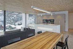 HI-MACS® per una casa 'verde' in Svizzera Home, Arch Interior, Casa Verde, Sweet Home, Home And Living, Modern Kitchen, House, Container House, Modern