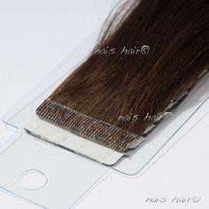 Tape Hair Extensions #4 (Dark Brown)