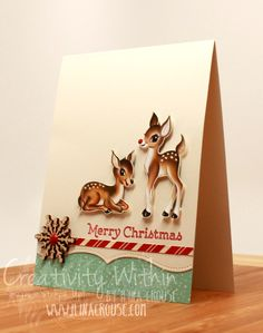 Home for Christmas dsp, Very Vanilla card stock. Home for Christmas enamel dots, Snowflake elements.