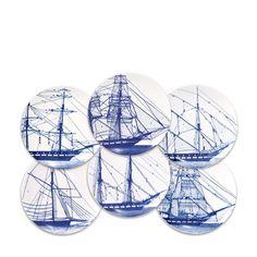 Caskata Artisanal Home - Rigging Canapes dish set