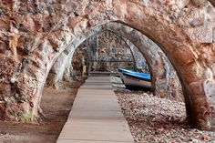 Alanya's old Shipyard #alanya #turkey