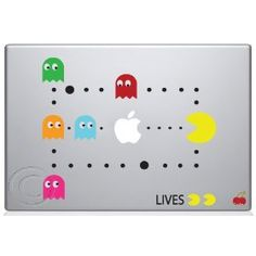 Mac sticker decals *PAC-MAN*