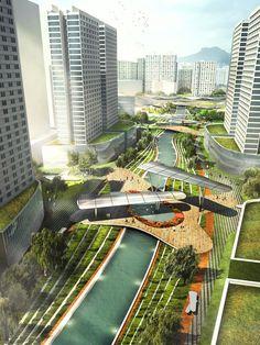 Upcycle Park - Kai Tai River | Avoid Obvious | Archinect