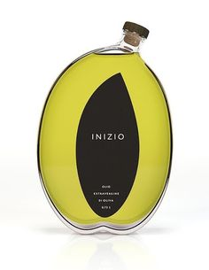 inizio olive oil packaging concept