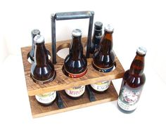 Craft Beer Caddy 22 oz Homebrew Beer Carrier Bomber Caddy Wine