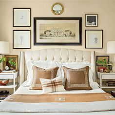 Handsome Master Bedroom - Master Bedroom Decorating Ideas - Southern Living