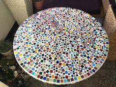 Mosaiktisch selbst gemacht