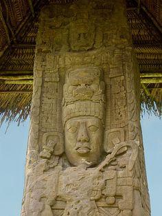 Quiriguá.  Estela maya