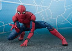 figurine figure samurai spider-man spider man bandai tamashii nation/'s neuf new