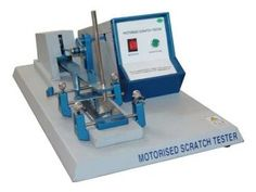 SCRATCH HARDNESS TESTER FOR PAINT, SCRATCH HARDNESS TESTER MOTORIZED MODEL, PORTABLE SCRATCH HARDNESS TESTERS Presto! http://www.amazon.in/dp/B018U989IC/ref=cm_sw_r_pi_dp_6M.Awb1JVCTC2