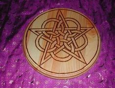 Make Your Own Altar Pentacle - good article on the use of an altar pentacle