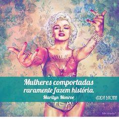 Viva intensamente e não passe vontades!  @frida_bacana que super recomendo! #frases #vida #comportamento #marilynmonroe #fridabacana