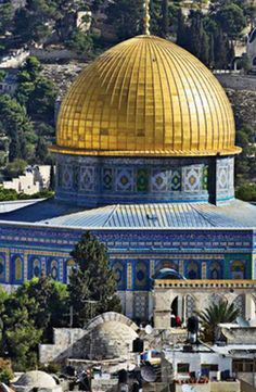Visit the Dome of the Rock in the Old City of Jerusalem #GrouponGetaways
