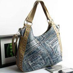 Cute angled bag