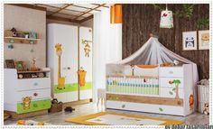 Çilek'ten Safari Temalı Bebek Odası