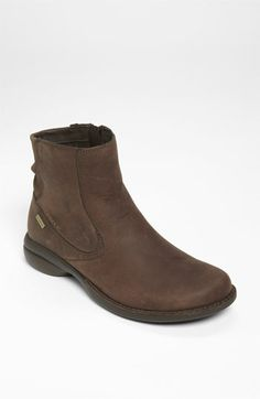 ** Merrell 'Captiva Mid' Waterproof Boot, Espresso, 8 M, $140.  Works with thin sock.  Breathable mesh lining.
