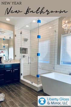 If a new bathroom is one of your plans for there are now countless options available to you to customize and upgrade your space. If 2019 was any indication, the new decade's style trends will have lots of creative options! How To Plan, Bathroom Update, Glass Mirror, Enclosure, Bathroom, Glass, Frameless Shower Enclosures, Bathtub Trends, Bathtub