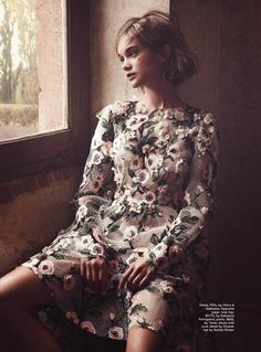 """The Artist's Muse"" Rosie Tupper by Nicole Bentley for Marie Claire Australia May 2014"