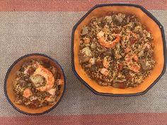 My Note Style: Mix di Cereali e Quinoa con gamberoni e carciofi