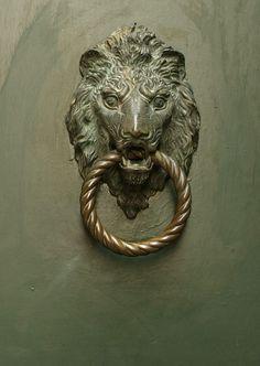 Lion shaped door knocker, Venice