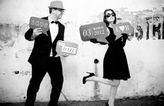 Save-the-date fotoshoot winnen